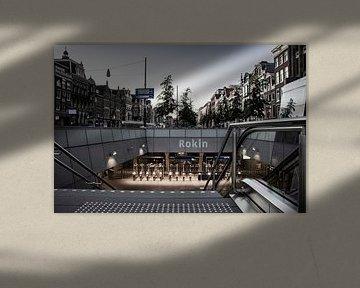 Amsterdam | Rokin, über und unter der Erde von Mark Zoet
