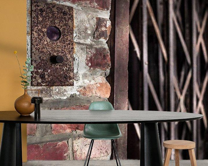 Sfeerimpressie behang: Lift 2 van Olivier Photography