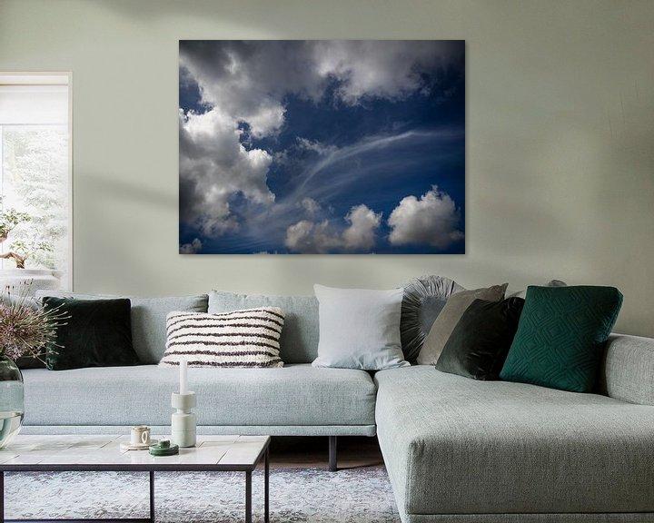 Sfeerimpressie: Blauwe lucht van Martijn Tilroe