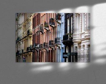 Amsterdam | Farbige Fassaden von Mark Zoet