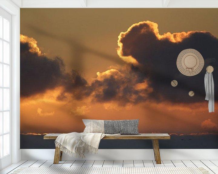 Sfeerimpressie behang: Heerlijk wakker worden zo van Jaap Bakker
