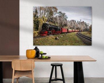 Harzer Schmalspurbahn 99-234, Départ Drei Annen Hohne sur Marcel Timmer