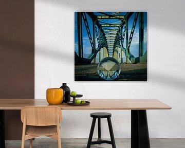 Ijsselbrug Zwolle van Jan Willem Oldenbeuving
