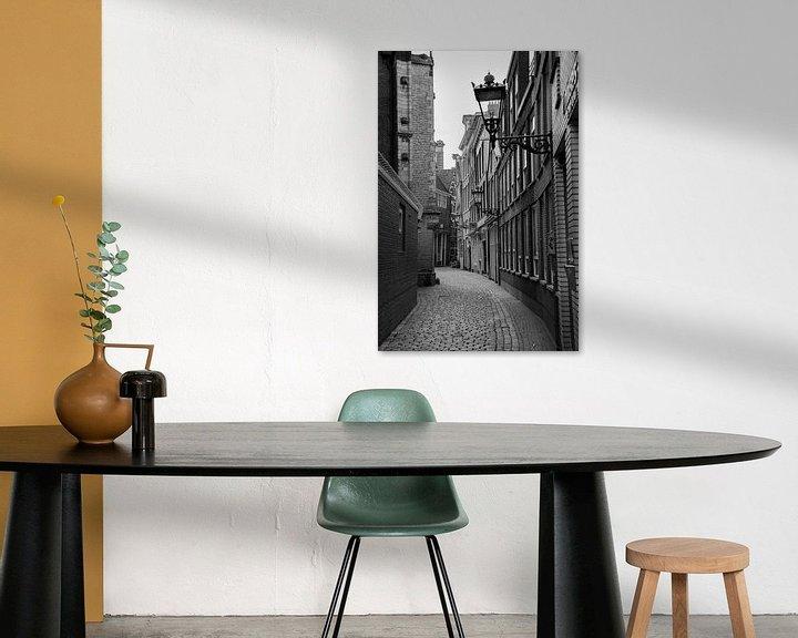 Sfeerimpressie: Amsterdam   Oudekerksplein gezien vanaf de Oudezijds Voorburgwal van Mark Zoet