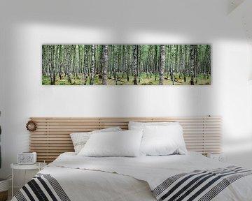 Birkenwald (groß) von Erik Reijnders