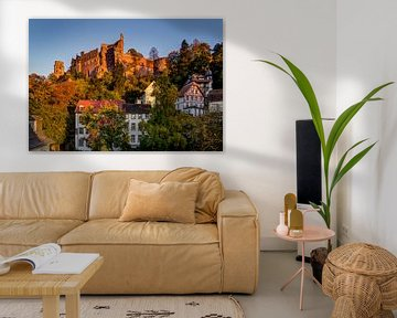 Heidelberg Kasteel, Duitsland van Adelheid Smitt