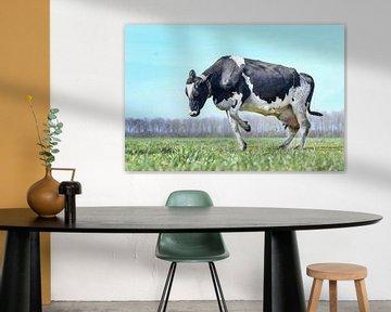 Koe springen in het land van Vera van Praag Sigaar