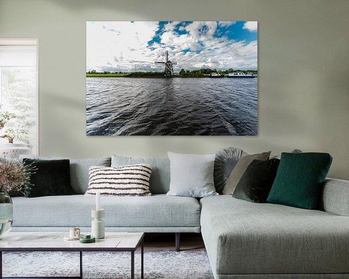 Sfeerimpressie: Windmolens in Nederland van Brian Morgan