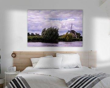 Windmolens in Nederland.