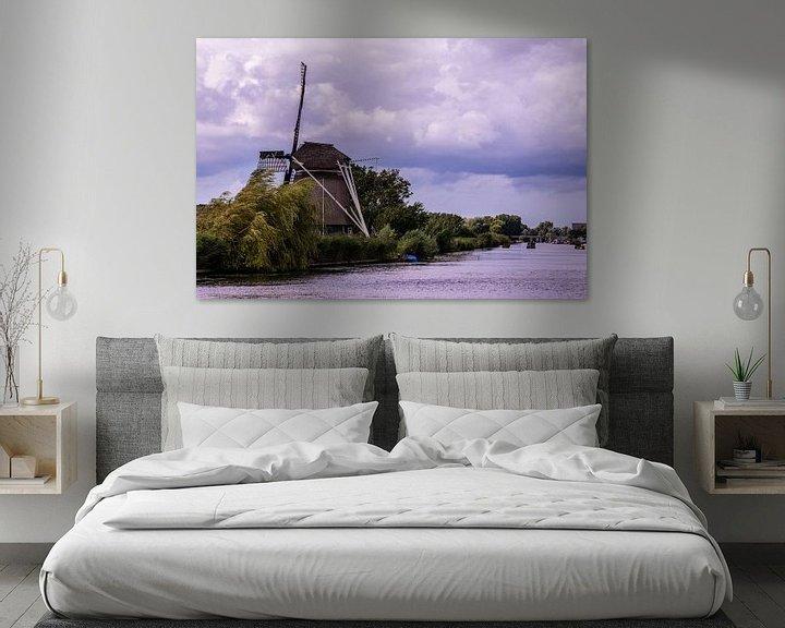Sfeerimpressie: Hollandse Windmolens van Brian Morgan