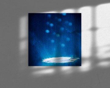 Lichtspel op de muur van Gerd Herm