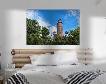 Der Leuchtturm Darßer Ort auf dem Fischland-Darß von Rico Ködder