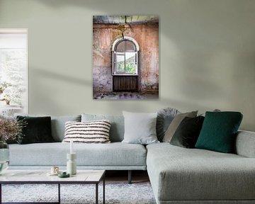 Fenster im Zerfall. von Roman Robroek