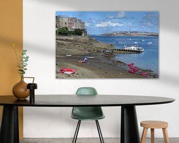 St. Malo, Frankreich, Bretagne von Bernard van Zwol