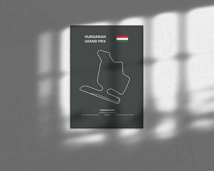 Beispiel: HUNGARIAN GRAND PRIX  | Formula 1 von Niels Jaeqx