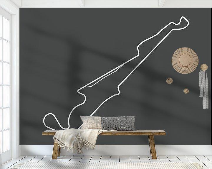 Beispiel fototapete: GRAND PRIX DE FRANCE    Formula 1 von Niels Jaeqx