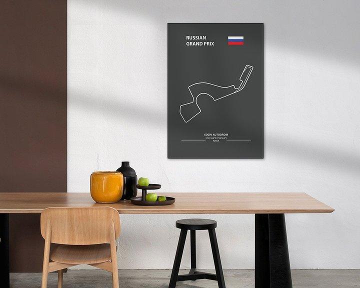 Beispiel: RUSSIAN GRAND PRIX   Formula 1 von Niels Jaeqx