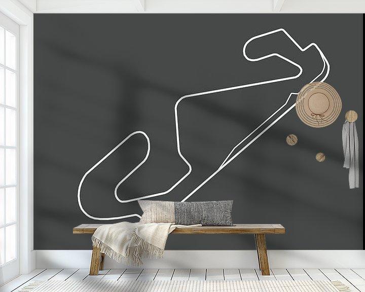 Beispiel fototapete: SPANISH GRAND PRIX   Formula 1 von Niels Jaeqx