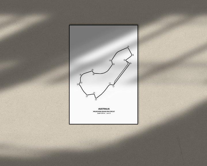Beispiel: AUSTRALIAN GRAND PRIX   Formula 1 von Niels Jaeqx