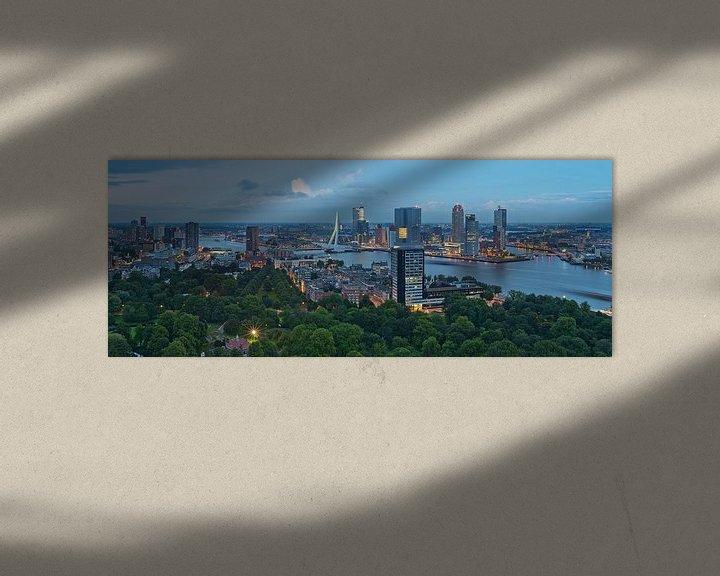 Sfeerimpressie: Panorama Rotterdam / Euromast / Augustus 2013 van Rob de Voogd / zzapback