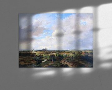 Landschaft mit Zug, andreas shellwood - um 1840