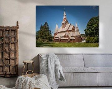 Gustav-Adolf-Stabkirche van Sergej Nickel