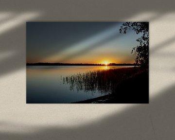 Zonsondergang van Koos Lanting