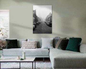 Buren im Nebel von Pieter van Zetten