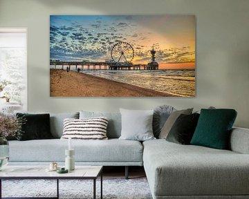 Sonnenuntergang Pier Scheveningen
