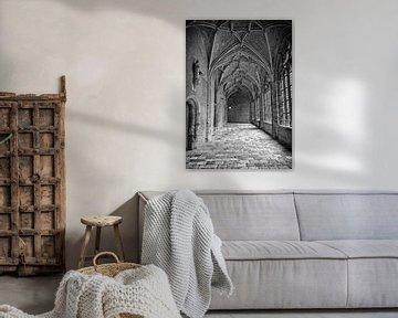 Monumenten stad Middelburg Zwart wit van Mariska Wondergem
