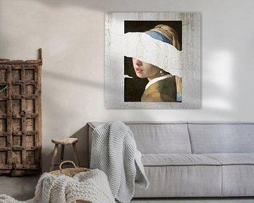 Meisje Met De Parel – The Torn Apart Edition sur Marja van den Hurk