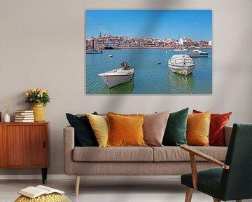 Hafen und Stadt Lagos an der portugiesischen Algarve von Nisangha Masselink