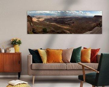 Canyonlands panoramic view van Lein Kaland