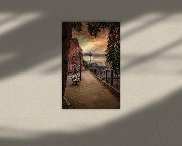 Berlin sunrise 2020 von Iman Azizi