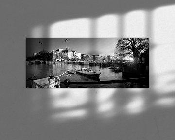 Amsterdamer Möwen (schwarz-weiß)