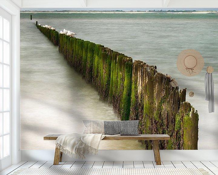 Sfeerimpressie behang: De Zeeuwse kust van Mark Bolijn