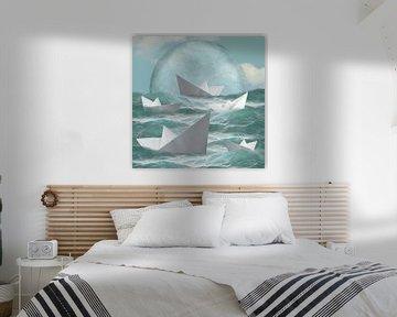 Sea of Wonders - Part 1 van Marja van den Hurk