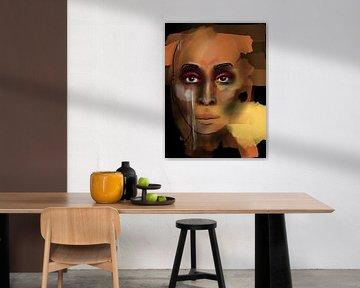 Black Pride van Afrotastic Art