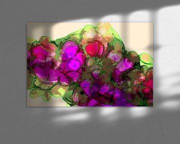 Gekleurde wolken/Colored clouds/Nuages colorés/Farbige wolken van Joke Gorter