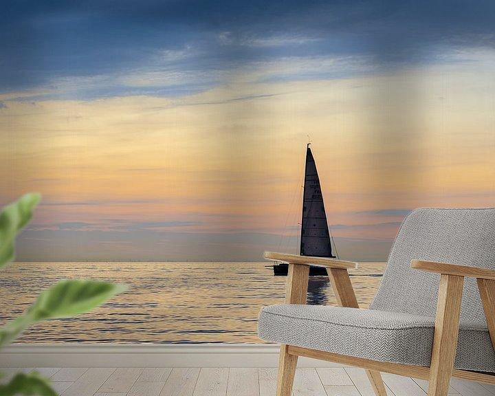 Impression: Bateau à voile en mer sur Mark Bolijn