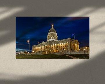 Utah State Capitol, USA van Adelheid Smitt