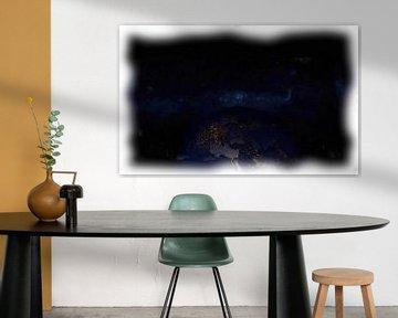 Erde und Milchstraße von Maurice Dawson