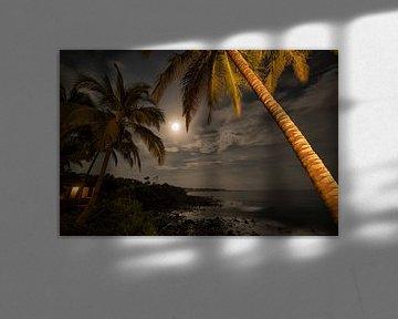 Avondopname gemaakt vanaf Punta Franca in Panama
