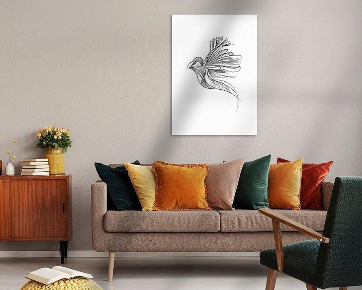 Beispiel: Illustration Vogel Tierdruck Kindergarten von Studio Tosca