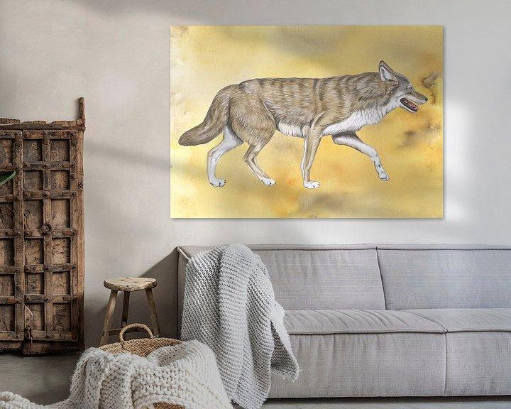Beispiel: Wolf von Jasper de Ruiter