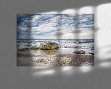 Stenen op het strand van Claudia Moeckel