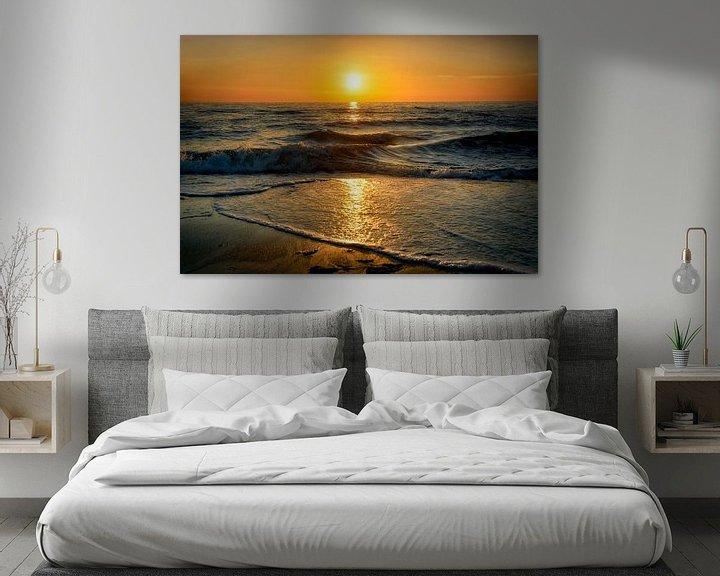 Beispiel: Sonnenuntergang von Claudia Moeckel