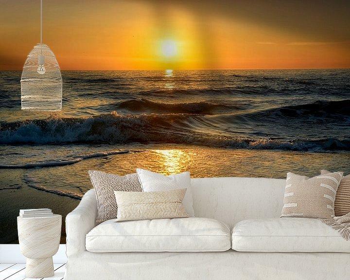 Beispiel fototapete: Sonnenuntergang von Claudia Moeckel