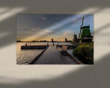 Windmühlen in den Niederlanden von Kevin Nugter