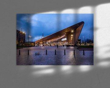 Rotterdam CS en soirée